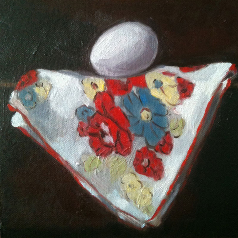 Handkerchief and Egg